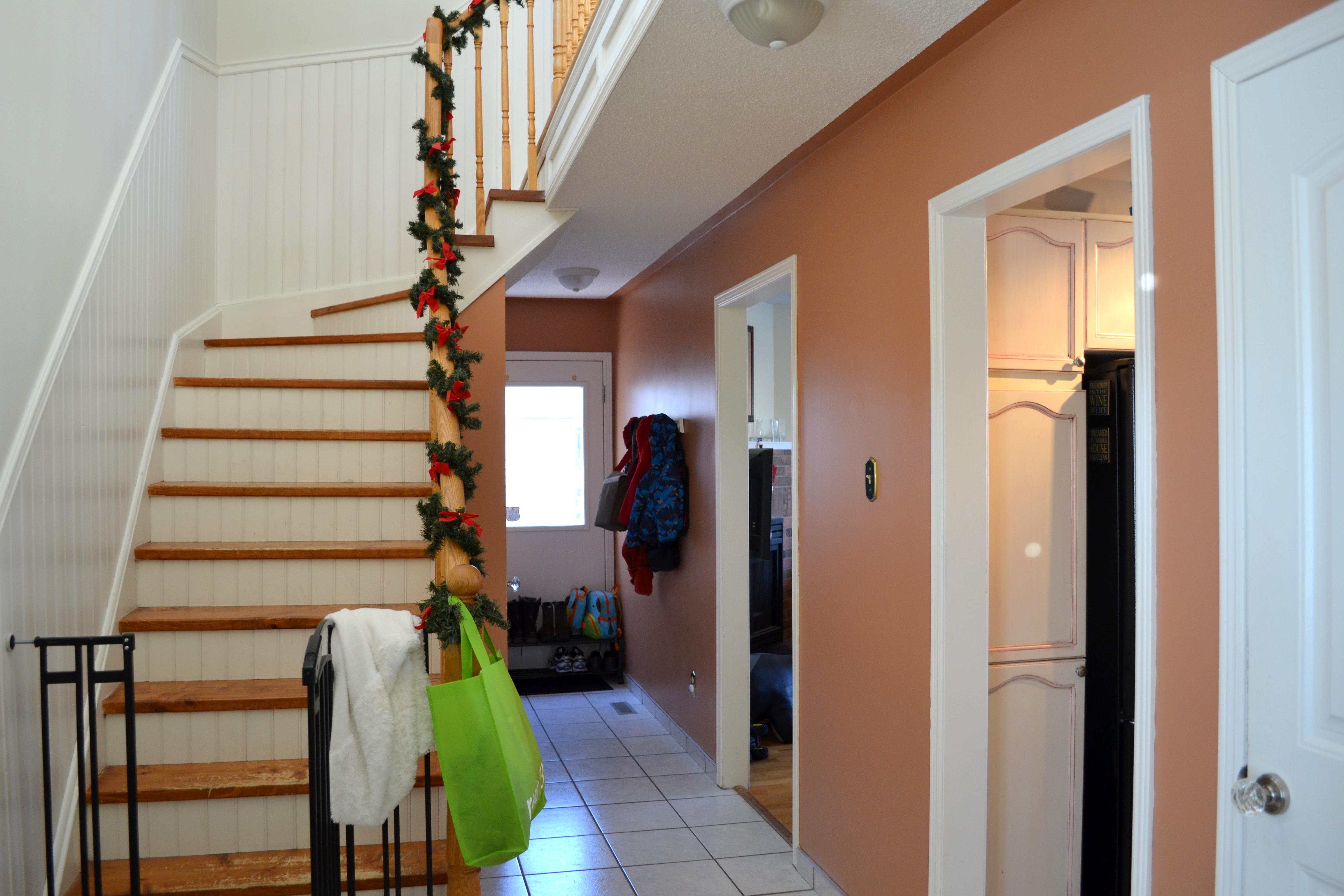 A hallway update redesignedinteriors Hallway colour scheme ideas